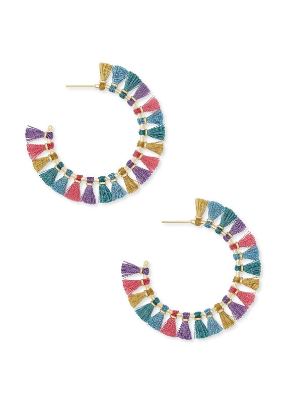KENDRA SCOTT Evie Hoop Earrings
