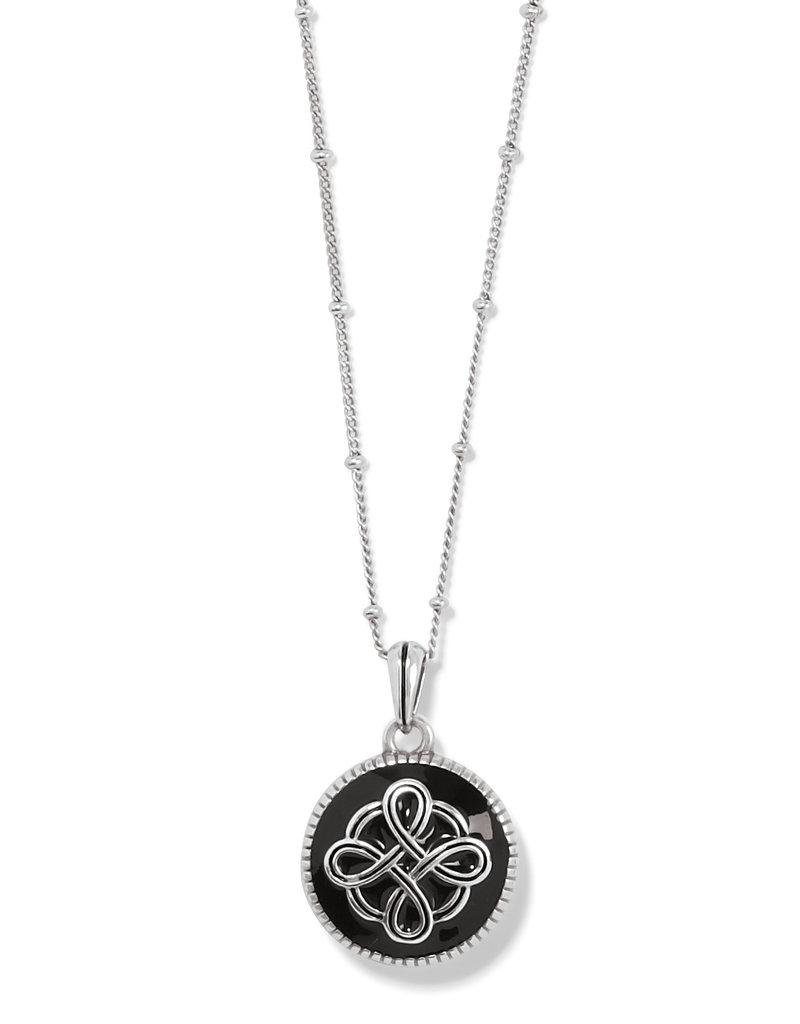 Interlok Noir Reversible Necklace