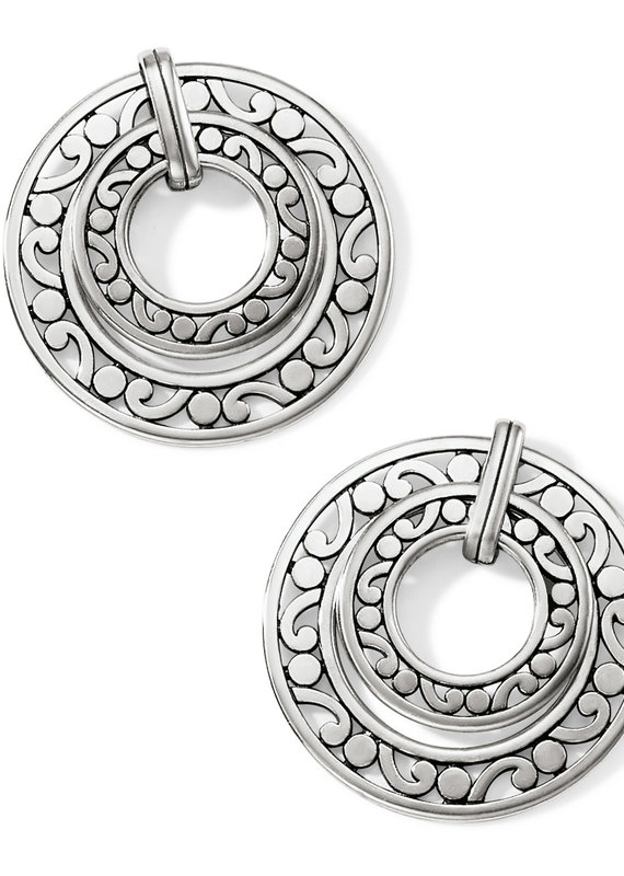 Contempo Open Ring Duo Postdrop Earring