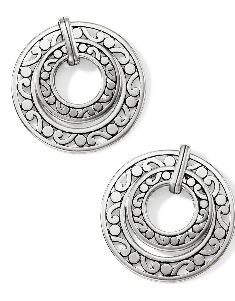 Contempo Open Ring Duo Postdrop Earring
