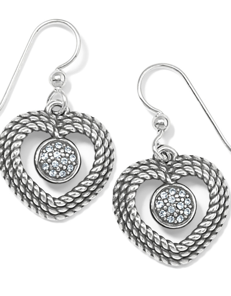 Portuguese Heart French Wire Earring