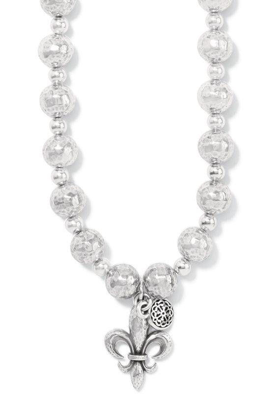 Ferrara Fleur De Lis Short Necklace