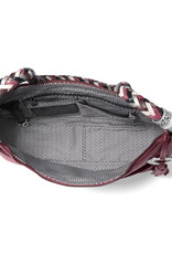 Barbados Ziptop Hobo in Sangria