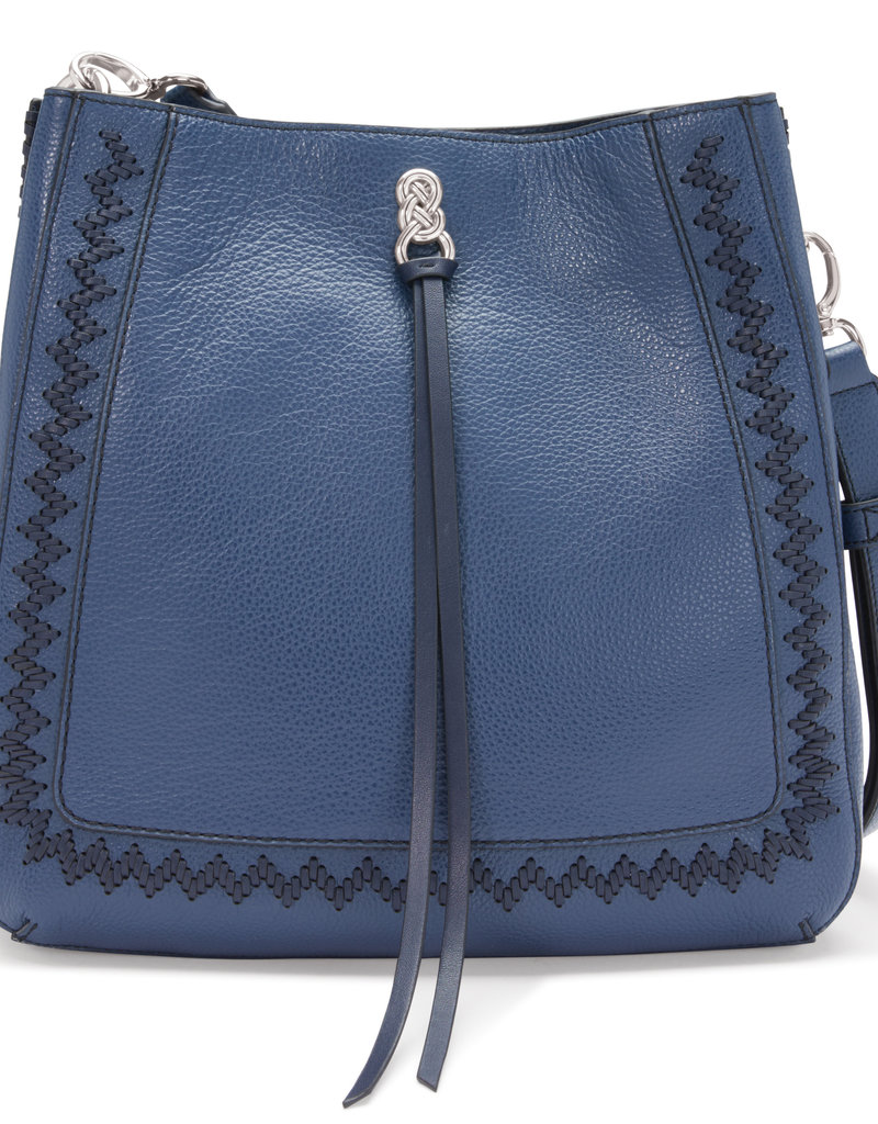 Georgia Convertible Hobo in French Blue