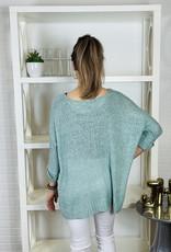 KLD SIGNATURE Lyla Cuffed Loose Fit Sweater