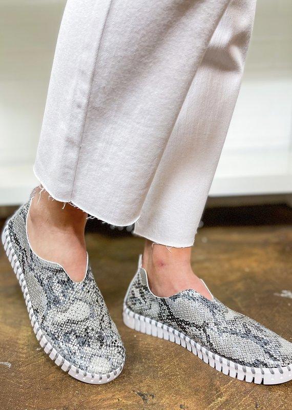 Ilse Jacobsen Tulip Snake Sneakers