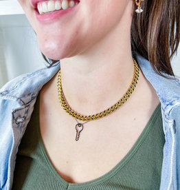 ANUJA TOLIA Key to Success Necklace