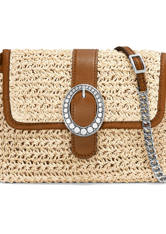 Mae Straw Flap Bag