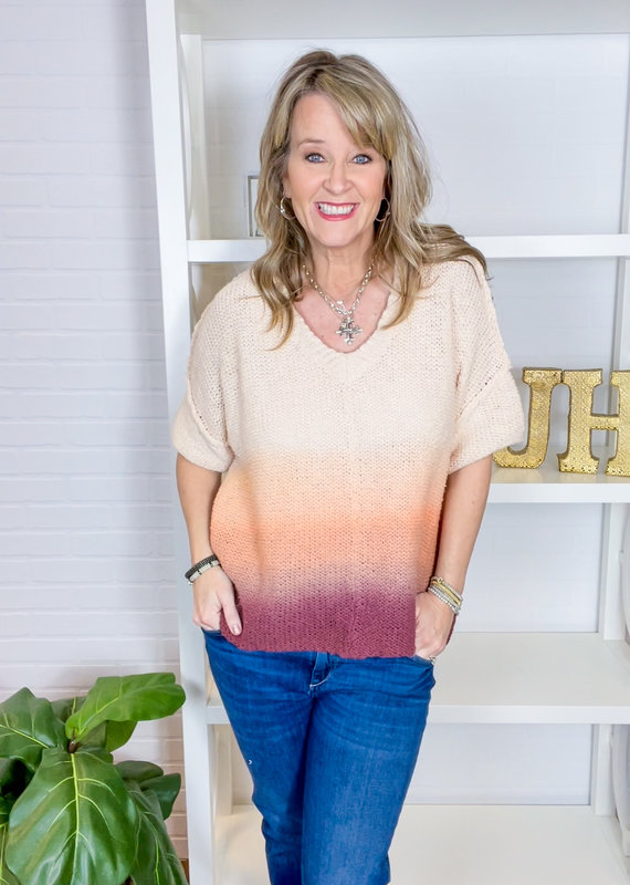 HELLO NITE Sally Chunky Ombre Sweater