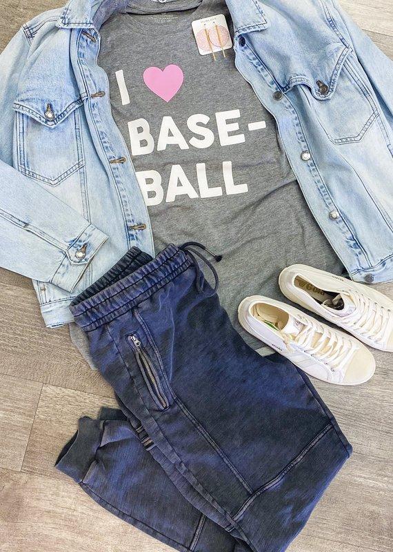 JADELYNN BROOKE I Heart Baseball Tee