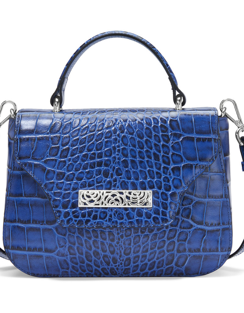 Linnet Small Flap Handbag in Marine