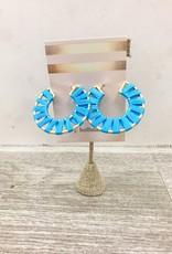 Hookedwebdesign Wrap Around Hoop Earrings