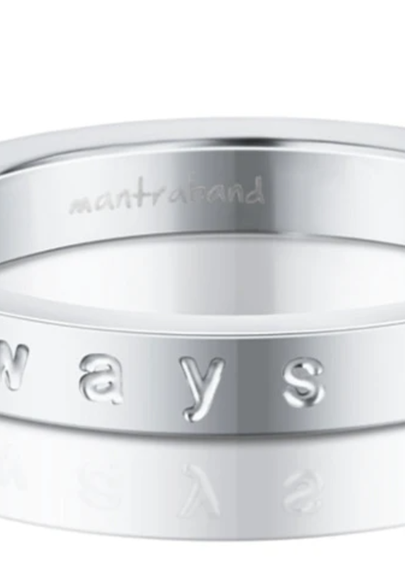 MantraBand Always In My Heart Ring