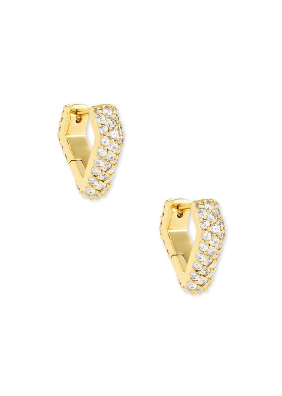 KENDRA SCOTT Demi Huggie Earrings