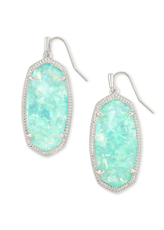 KENDRA SCOTT Elle Silver Drop Earrings