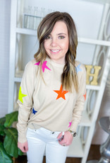 THML Stevi Colored Star Sweater