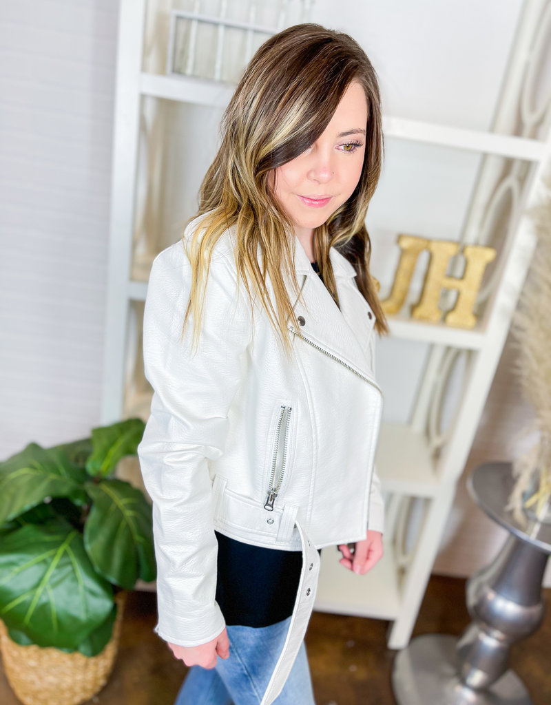 PISTOLA Tracy Moto Cropped Jacket