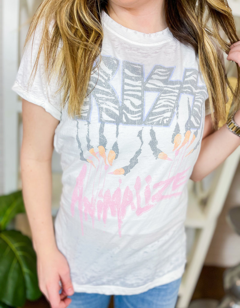 RECYCLED KARMA KISS Animalize T-shirt