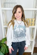 RECYCLED KARMA Def Leppard Hysteria Sweatshirt