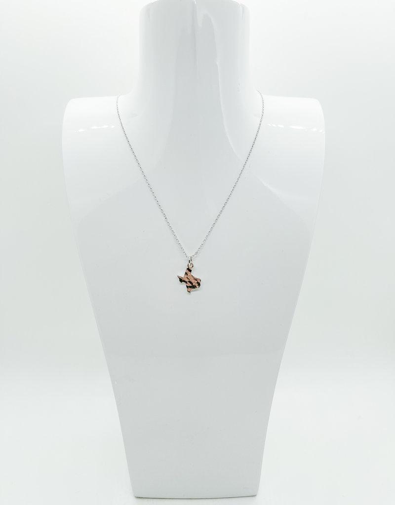 BRENDA GRANDS Texas Hammered Necklace