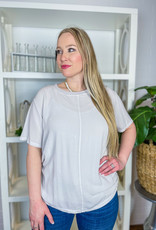 HELLO NITE Crew Neck Tee with Cami