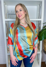 BENEDETTO Perl Tie Dye Top