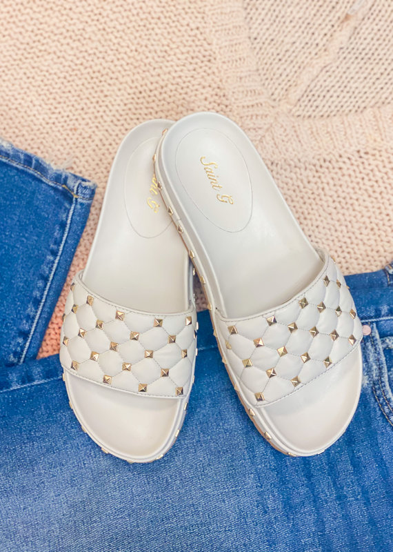 FUTURE BRANDS Gina Studded Mule