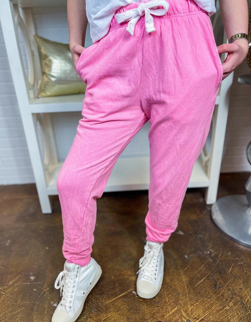 LOVE VINTAGE Ursa Garment Dye Joggers