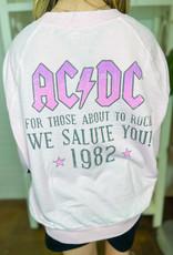 RECYCLED KARMA AC/DC About to Rock Sweatshirt