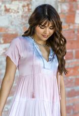 KARLIE Cotton Candy Midi Dress