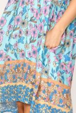 GIGIO Raya Floral Baby Doll Dress