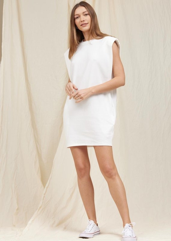 MOODIE Muscle Shirt Dress