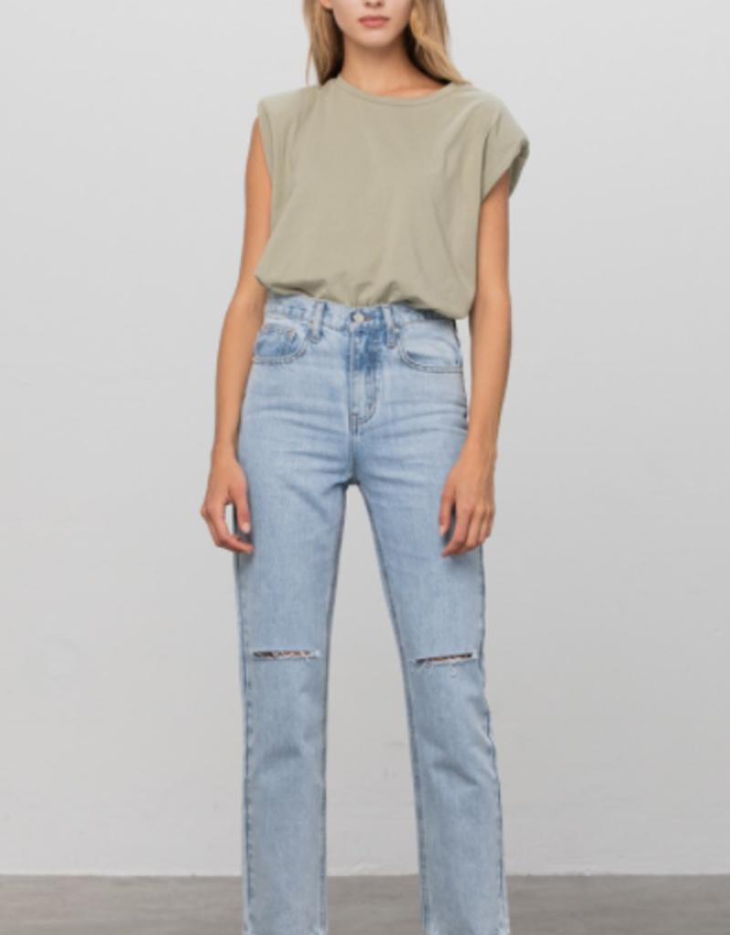INSANE GENE Peekaboo Pocket Jeans