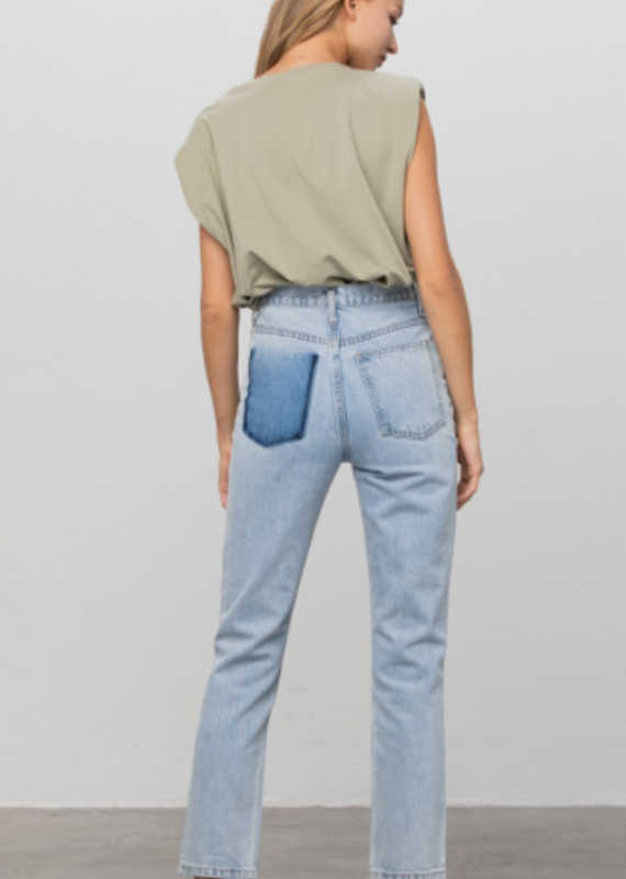 INSANE GENE Peekaboo Pocket Jeans
