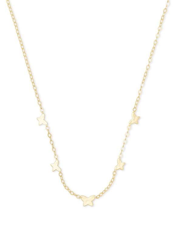 KENDRA SCOTT Lillia Butterfly Strand Necklace