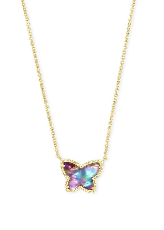 KENDRA SCOTT Lillia Butterfly Pendant Necklace