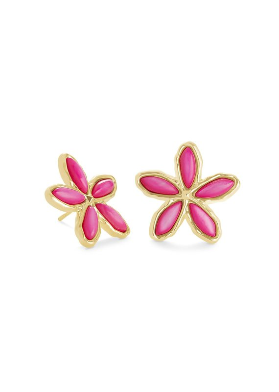 KENDRA SCOTT Kyla Flower Stud Earrings