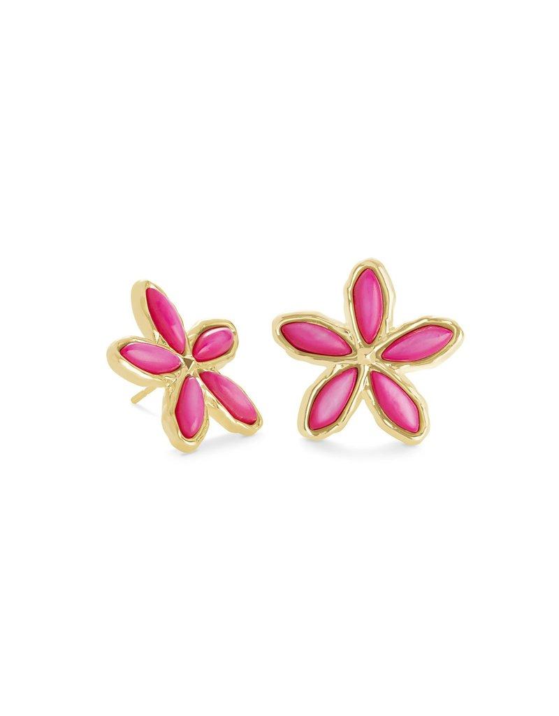 KENDRA SCOTT Kyla Flower Stud Earrings