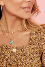 KENDRA SCOTT Kyla Flower Pendant Necklace