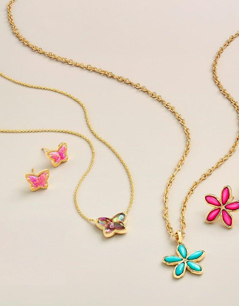 KENDRA SCOTT Kyla Flower Pendant Necklace