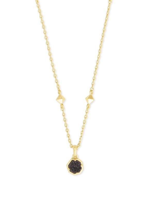 KENDRA SCOTT Nola Gold Short Pendant Necklace