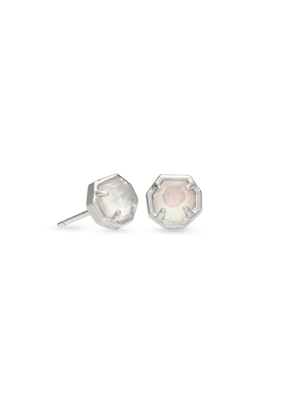 KENDRA SCOTT Nola Silver Stud Earrings