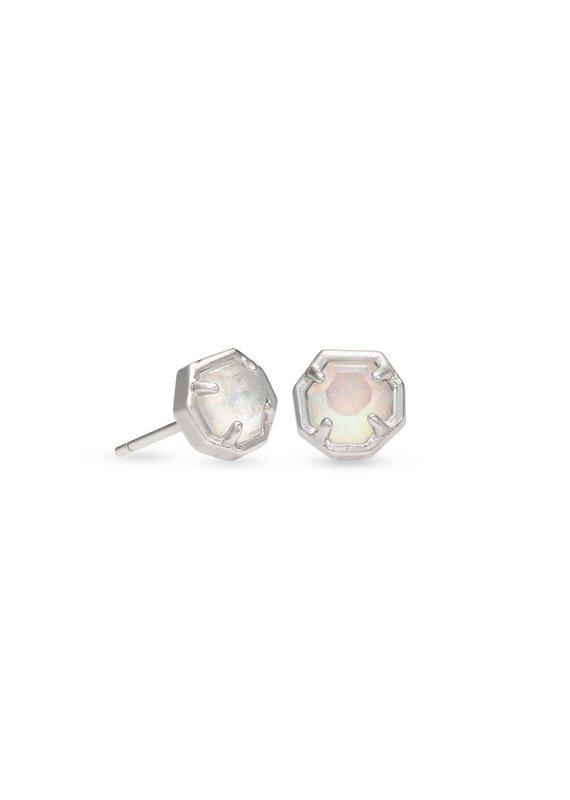 KENDRA SCOTT Nola Silver Stud Earrings