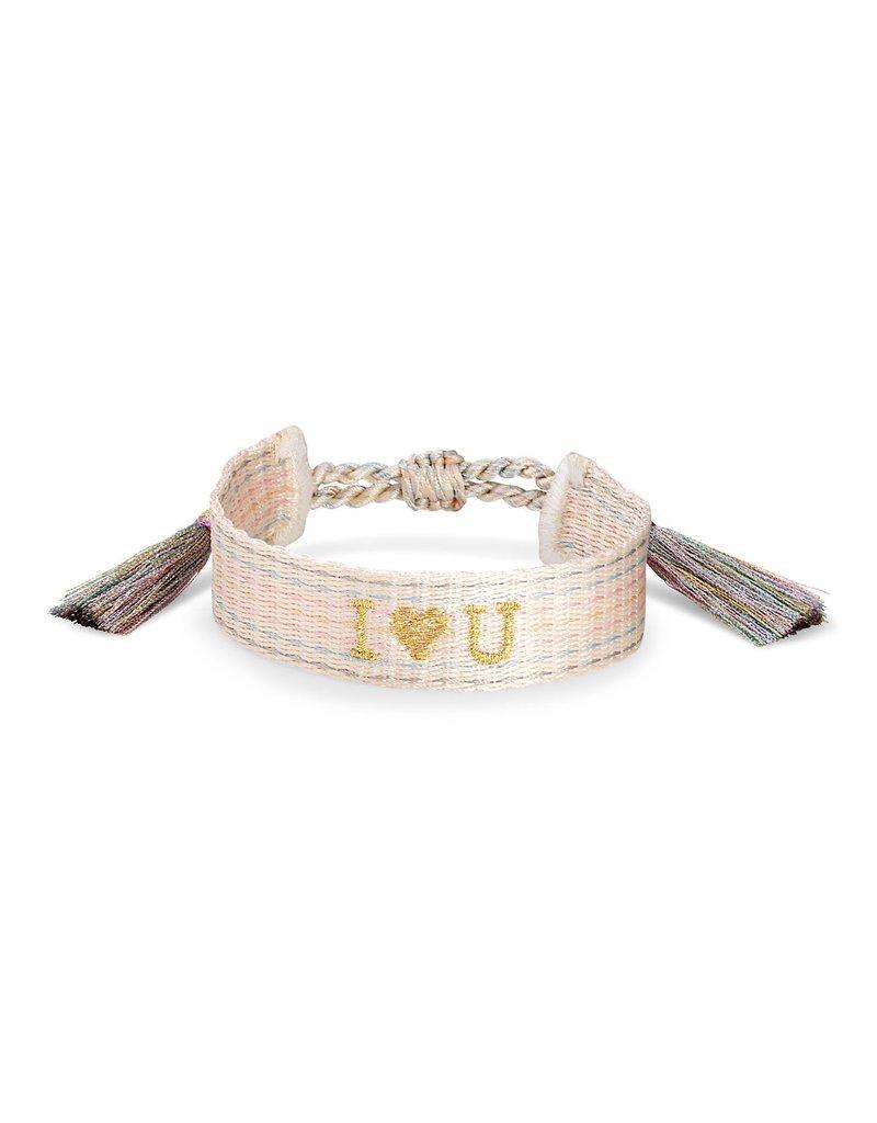 KENDRA SCOTT I Heart You Woven Friendship Bracelet