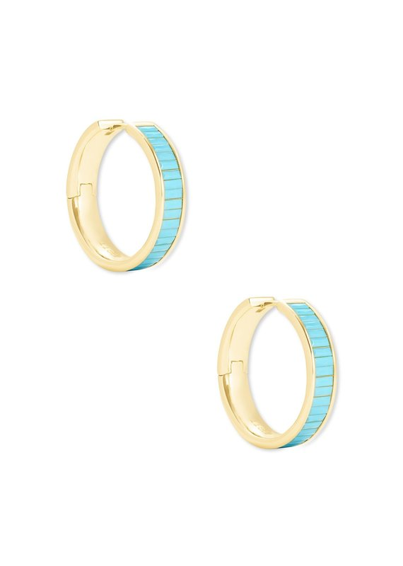 KENDRA SCOTT Jack Hoop Earrings