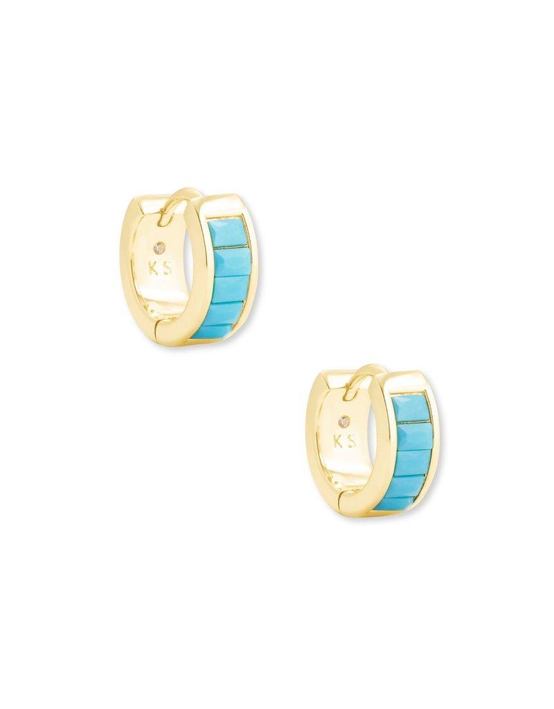 KENDRA SCOTT Jack Huggie Earrings