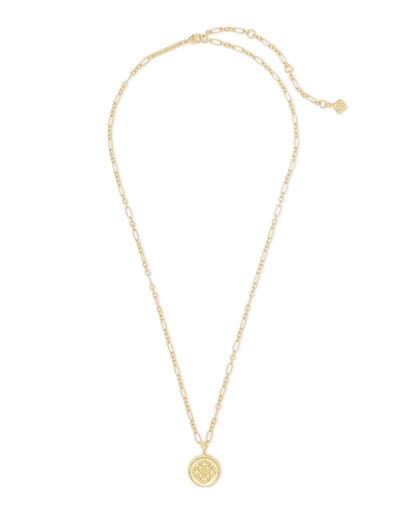 KENDRA SCOTT Dira Coin Pendant Necklace