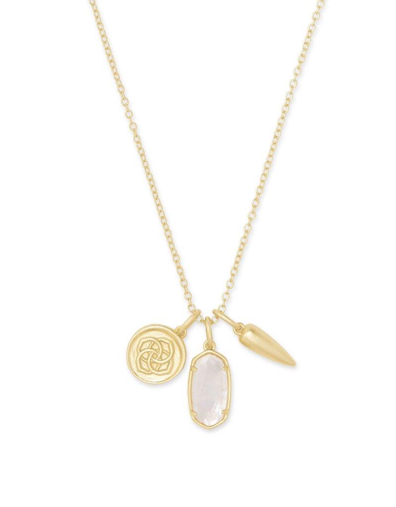 KENDRA SCOTT Dira Coin Charm Necklace