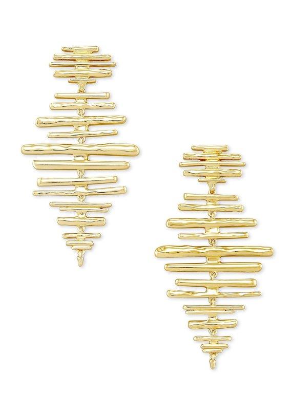 KENDRA SCOTT Rylan Statement Metal Earrings