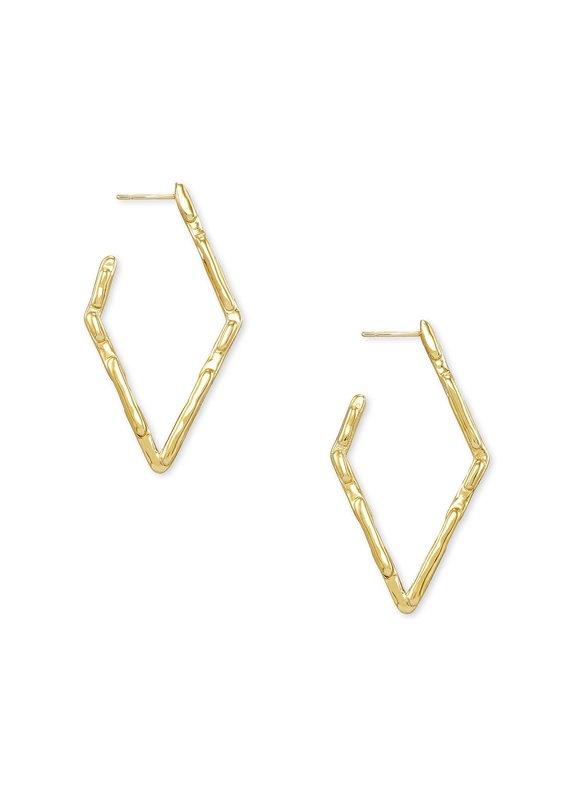 KENDRA SCOTT Rylan Small Hoop Metal Earrings